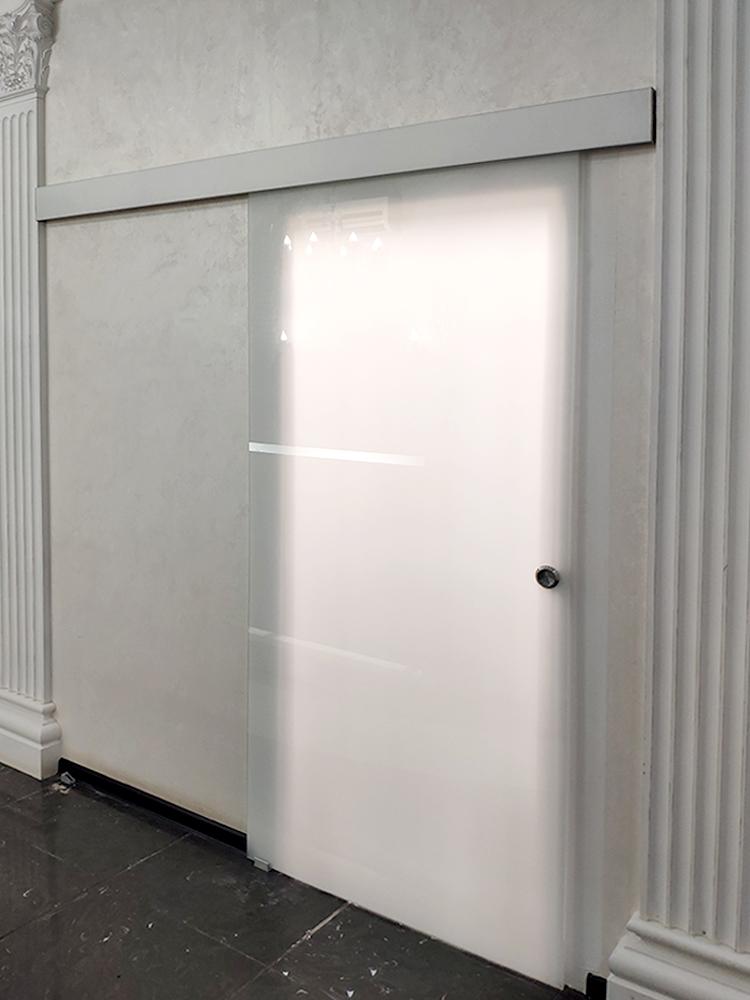 Сдвижные стеклянные двери Пермь