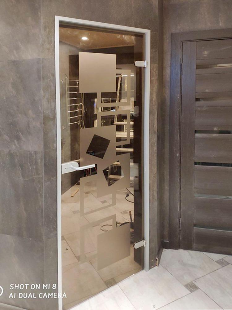 Стеклянные двери на заказ Пермь