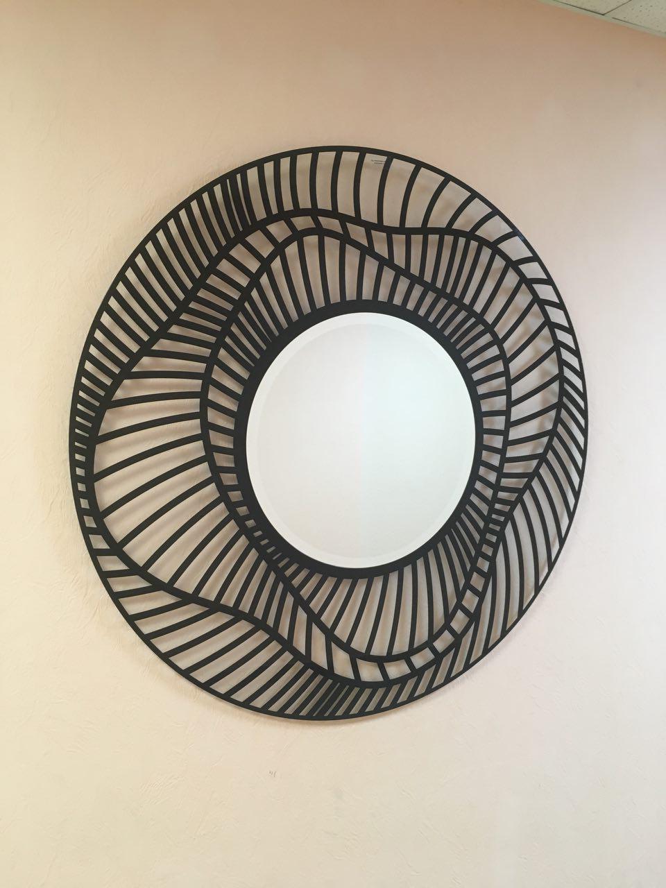 Зеркало на стеклянной подложке