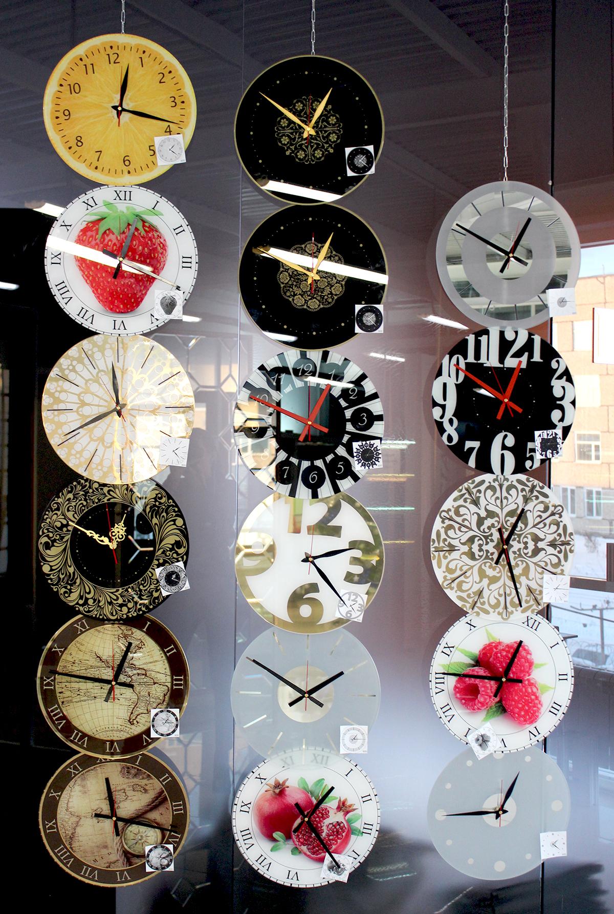 Стеклянные часы