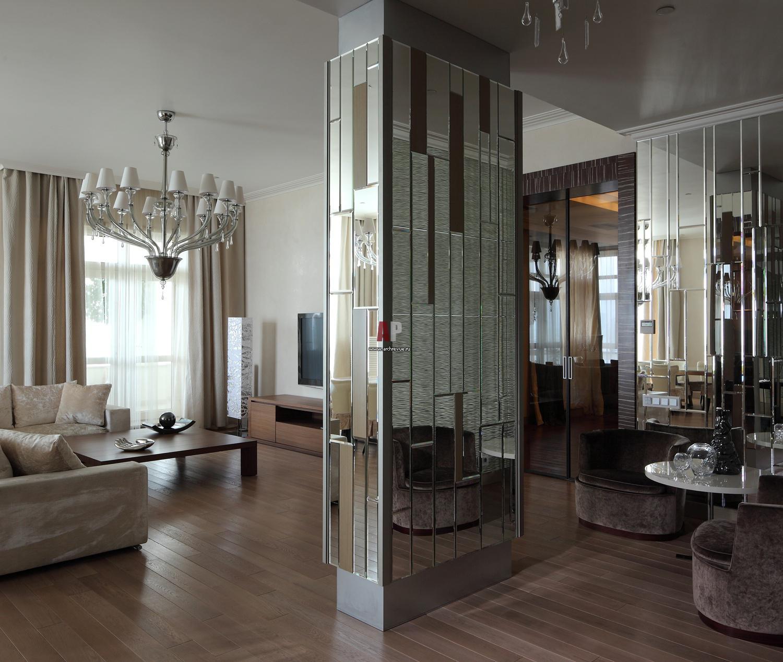 Зеркальные элементы для облицовки